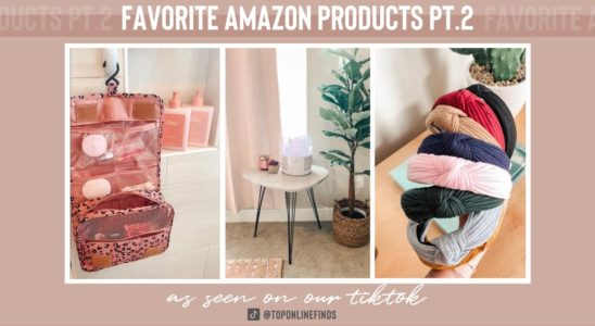 Favorite Amazon Products: Part Two | As Seen on TikTok | Top Online Finds