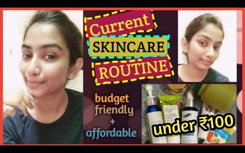 Skincare routine for acne and oily skin || Affordable || skincare routines 2020